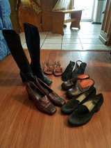 6 Pairs of Shoes/Boots Lot 3 in Aurora, Illinois
