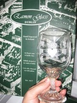 Authentic IRISH Wedding Goblets, LIKE NEW in Travis AFB, California
