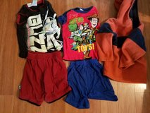 5 Pc Buzz/Woody Outfit & Fleece Lot 26 in Glendale Heights, Illinois
