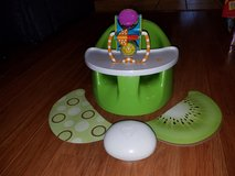 MARKED DOWN: Adorable Prince Lionheart bebe Pod Plus Bumbo in Glendale Heights, Illinois