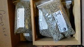 Sweet Maria's Green Coffee Beans - 8 1lb. packages- never opened in Pasadena, Texas