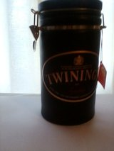 Large Ceramic Twinings Tea Canister in Bartlett, Illinois