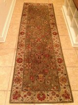 Karastan Wool Rug Runner - 2.5  x 8 feet Green in Bolingbrook, Illinois