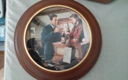Casablanca-We'll Always Have Paris Framed Decorative Plate in Conroe, Texas