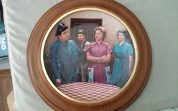 The Honeymooners Framed Decorative Plate in Conroe, Texas