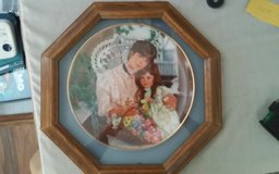 """A Cherished Time"" Framed Decorative Plate in Conroe, Texas"