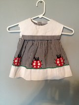 Cute high quality girls' infant dress with ladybug appliqués in 29 Palms, California