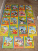 WINNIE THE POOH OUT AND ABOUT LEARN AND GROW LIBRARY SET 1-19 VOLUMES in Camp Lejeune, North Carolina