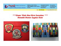 Patches, Shadow Boxes, Medal Mounting in Okinawa, Japan