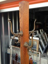 Solid Tiger Oak Hat/ Coat Stand in Cherry Point, North Carolina