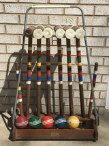 Vintage Forster Croquet With Stand in Oswego, Illinois