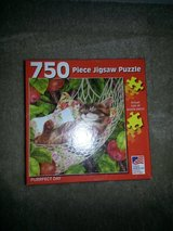 750 pc. Purrfect Day Jigsaw Puzzle in Camp Lejeune, North Carolina