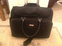 Vera Bradley Roller Work Bag / Suitcase - Classic Black in Plainfield, Illinois