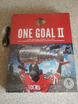 Blackhawks One Goal II 2 book and 17 seconds movie Brand NEW in cellophane! in Orland Park, Illinois
