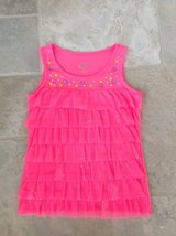 Girls Ruffle Shirt from Justice - Size 10-12 in Plainfield, Illinois
