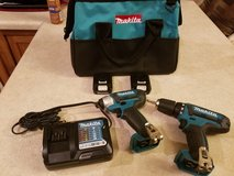 Makita drill set in Cherry Point, North Carolina