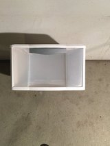 Sterilite White Plastic Storage Tote Drawer in Aurora, Illinois