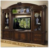Entertainment - Wall Unit - Empire - monthly payments possible - see VERY IMPORTANT below in Spangdahlem, Germany