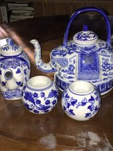 bombay elephant tea kettles and candle holder in Travis AFB, California