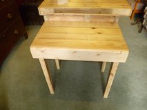 hand made side table recycled out of old pallets in Lakenheath, UK