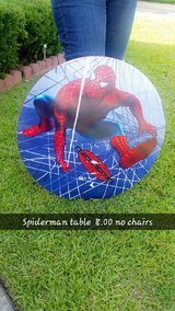 Spiderman table in Byron, Georgia