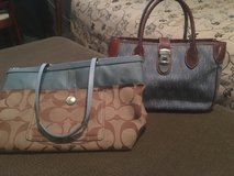 Designer purses - excellent condition, authentic in Fort Campbell, Kentucky