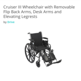 DRIVE Cruiser III Wheelchair in Fort Lewis, Washington