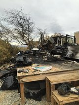 Home fire. Disabled mother lost everything. Please help! in Yucca Valley, California
