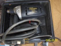 """Sears 3/8"""" Corded Drill with Case Like New! in Alamogordo, New Mexico"""