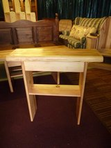 Small Console Table Hand made in Lakenheath, UK