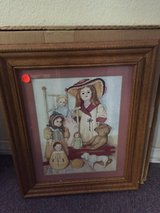 Doll Picture and Frame in 29 Palms, California
