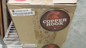 Full Case 1000 Copper Hook Red Hook Copper Ale Craft beer Coasters in Chicago, Illinois