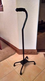 Quad Cane - Like new - Never Used in Joliet, Illinois