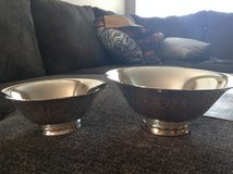 Towle Silverplate Bowls in Chicago, Illinois