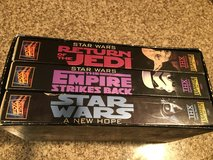 Three VHS Set of Star Wars in Glendale Heights, Illinois