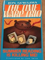 Time Warp Trio NEW Summer Reading is Killing Me! in Okinawa, Japan