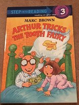 Arthur Tricks the Tooth Fairy Sticker Book NEW in Okinawa, Japan