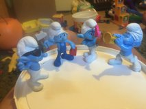 Smurfs in Camp Lejeune, North Carolina