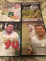 Darrell Klassen Instructional DVD's (4) in Beaufort, South Carolina