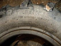 2  4X4     knobby tires for    AT25x11R25    4  wheeler   size   X 2  for less than the price  o... in Camp Lejeune, North Carolina