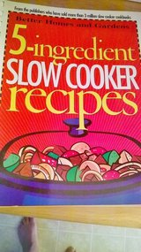 Better Home And Gardens/ 5 Ingredient Slow Cooker recipes in Travis AFB, California