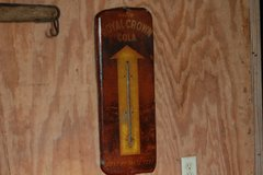 Royal Crown Cola Thermometer in Leesville, Louisiana
