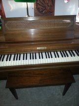 "Baldwin acrosonic 36"" Spinet piano serial # 845124 in Joliet, Illinois"