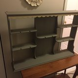 Solid Walnut Trinket Shelf,  Shabby Chic, Curio wall mount in Westmont, Illinois