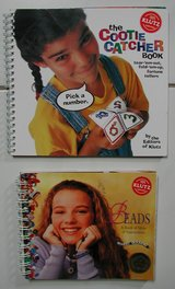 """""""Beads"""" and """"The Cootie Catcher Book"""" with case in Ramstein, Germany"""