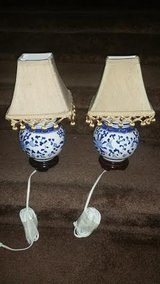 Porcelain / Blue Lamp Set in Clarksville, Tennessee