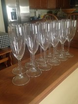 Fluted Wine Glasses in St. Charles, Illinois