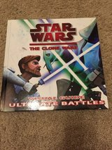 Star Wars The Clone Wars Visual Guide Ultimate Battles book in Naperville, Illinois