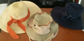 3 Adult Sized Sun Hats in Alamogordo, New Mexico