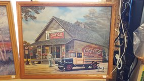 Framed Coca Cola Prints set of 2 in Hopkinsville, Kentucky